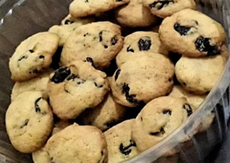 Resep Cookies Kismis oleh Neno - Cookpad
