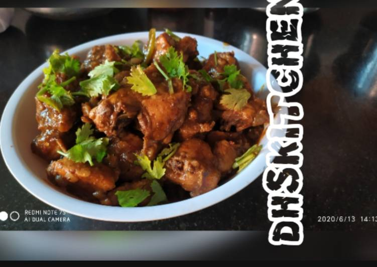 Chettinad chicken roast Choosing Healthy and balanced Fast Food