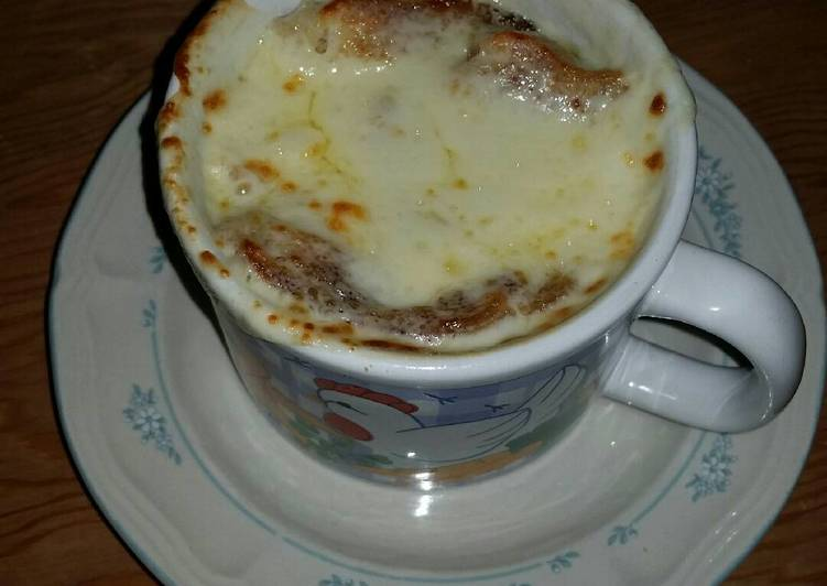 French Onion Soup, Choosing Fast Food That's Fine For You