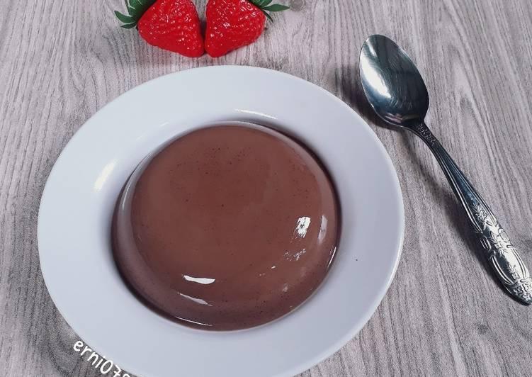 Silky Puding Coklat