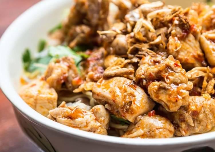 Resep Mie Ayam Pedas Rica Rica
