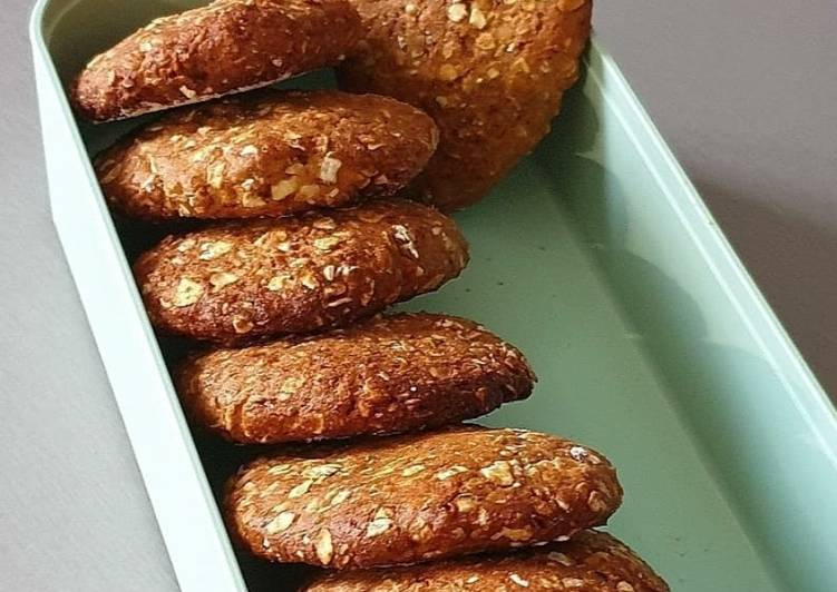 Biscuits petit dej aux flocons d'avoines /ss beurre