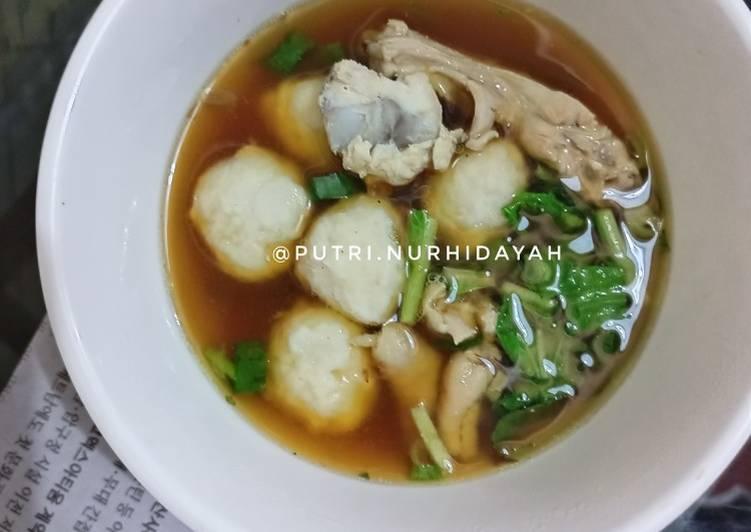Kuah Bakso Ayam