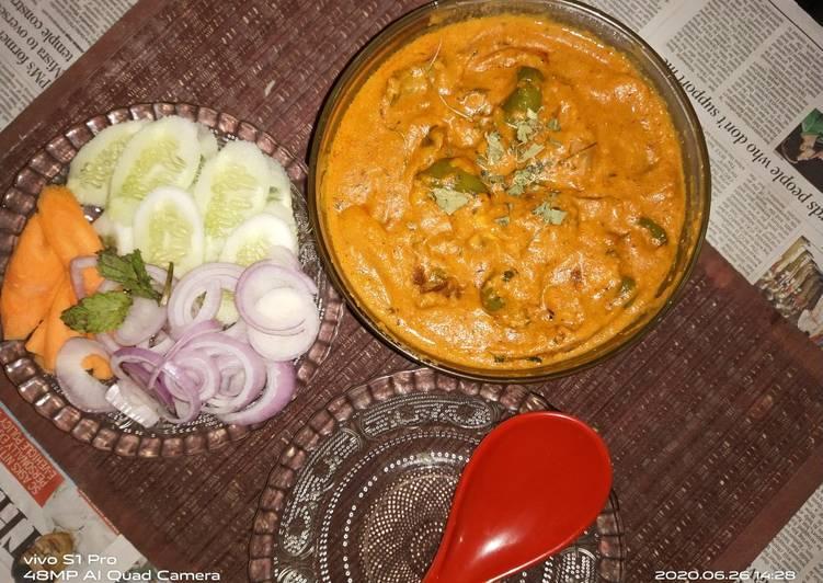 Recipe of Perfect Mushroom tikka masala