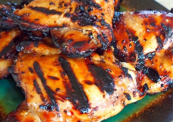 Oriental Grilled Chicken (Gluten Free)