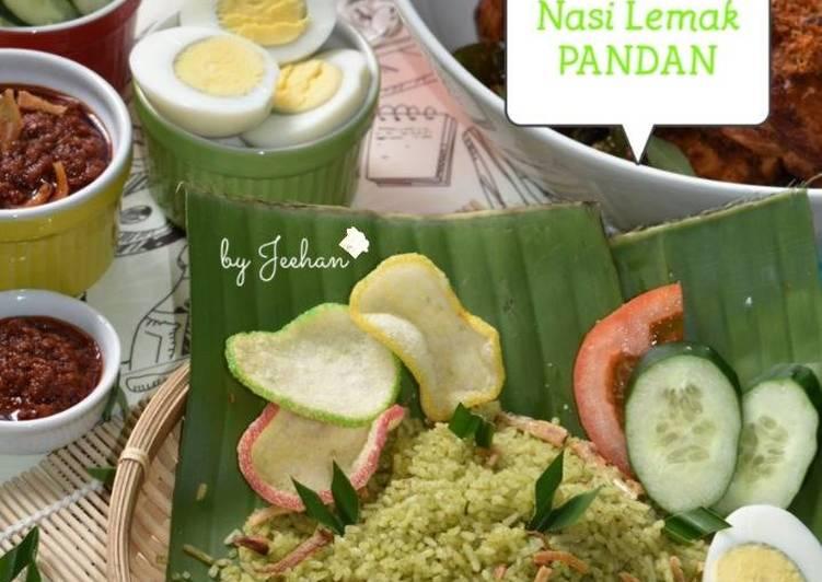 Nasi Lemak PANDAN - resepipouler.com