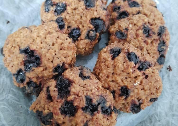 Oat Cookies (dengan teflon)
