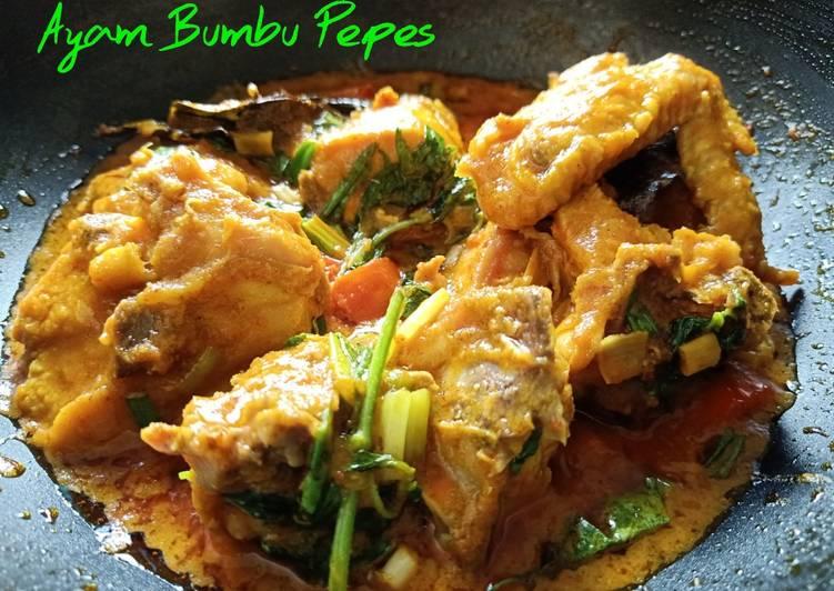 Paket: Ayam Bumbu Pepes+Sambal Royko
