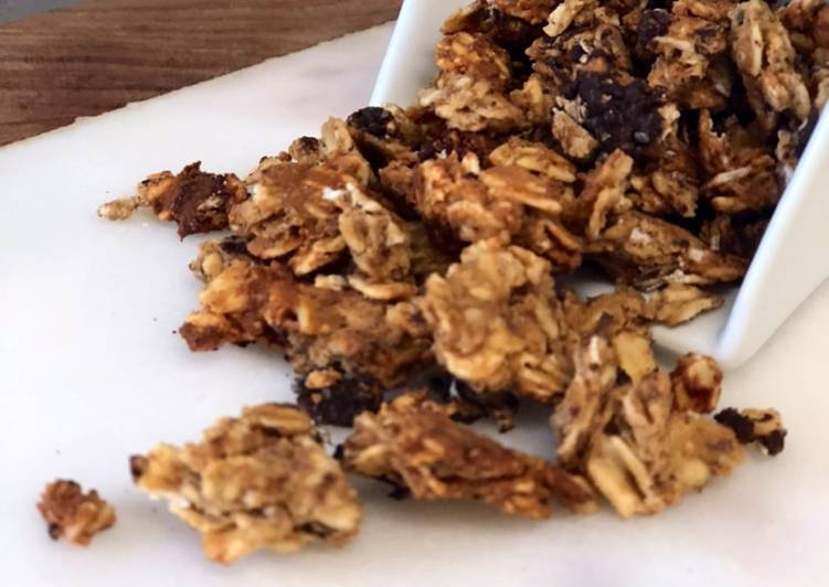 Quick and Easy Recipe: Yummy Protein Granola