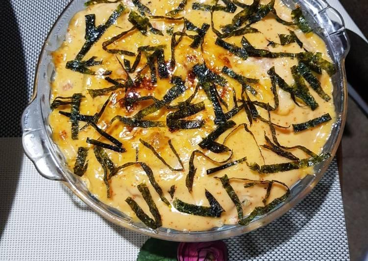 Resep Salmon Mentai Shirataki Noodles Oleh Lina Bachry Cookpad