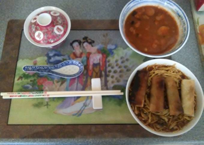 Japanese poach smoke haddock in katsu curry past and teriyaki sauce gekkeikan dry sake fine egg noodles