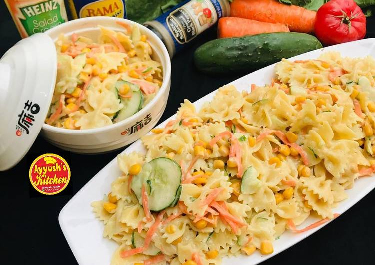 Recipe of Quick Bowtie pasta salad