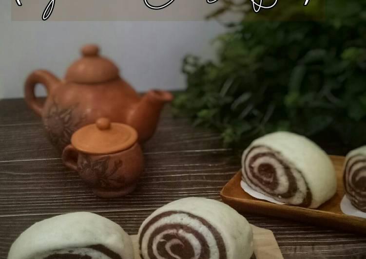 Resep Mantou Gulung (Steamed Chinese Bun) Paling dicari