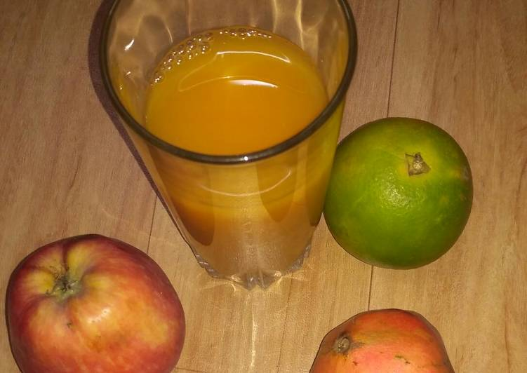 How to Prepare Quick Tangy fruit juice