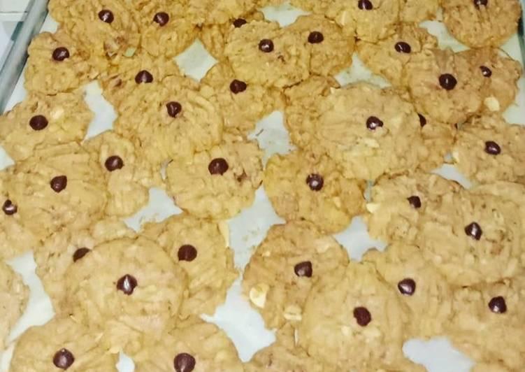 Butter cookies almond