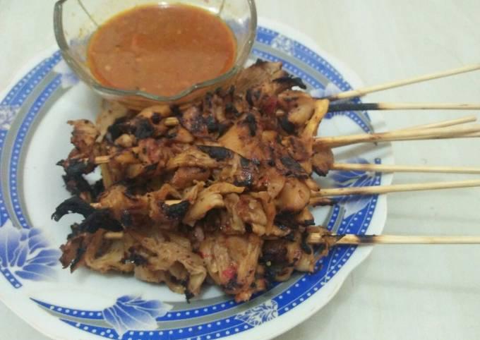 Resep Sate Jamur Tiram Oleh Mikaila Wartegan Cookpad