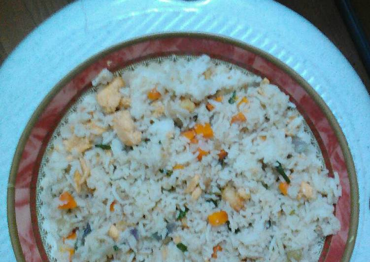 Step-by-Step Guide to Prepare Perfect Fried rice with mango pickle