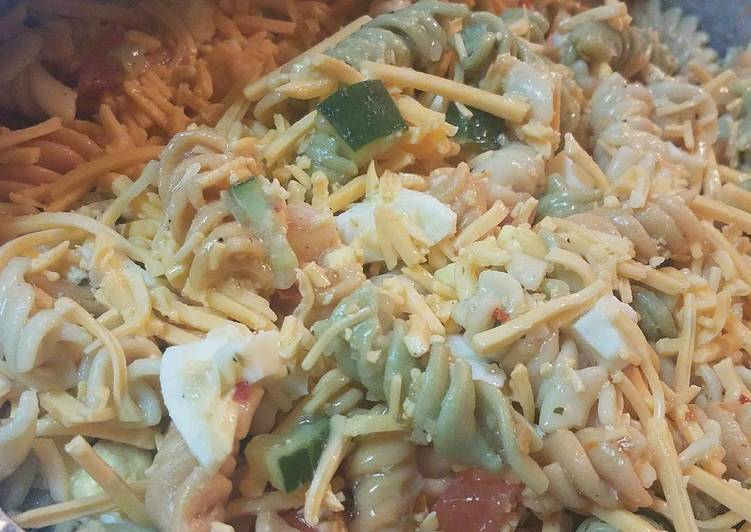 Easiest Way to Cook Tasty Easy Seafood Pasta Salad
