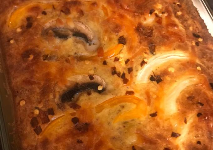 Macaroni schotel - my sister's recipe
