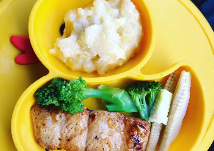 Resep Dori Panggang Madu Dan Mashed Potato Oleh Gita Wardhani Cookpad