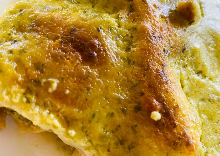 Recipe: Delicious Lasagne al forno al pesto