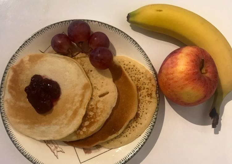 Comment faire Faire Savoureux Pancake express