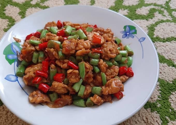 sambal goreng tempe buncis - resepenakbgt.com