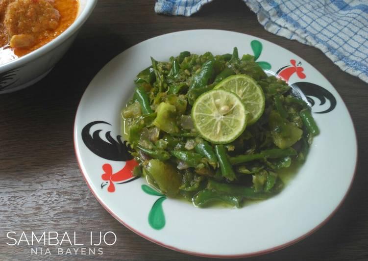 Sambalado hijau goreng (#pr_recookRancakBana)