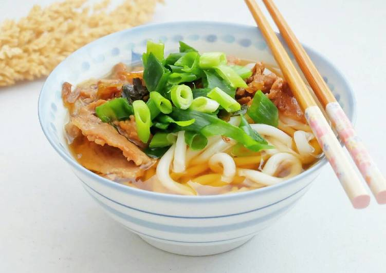 How To Handle Every Beef Udon(牛肉うどん)
