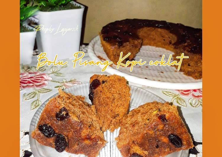 Bolu Pisang Kopi Coklat - cookandrecipe.com