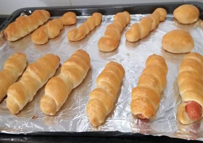 Chicken Hotdog Bread
