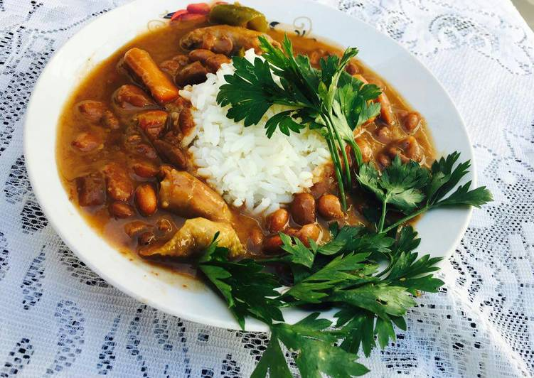 Recipe of Ultimate Feijoada (brown beans stew)