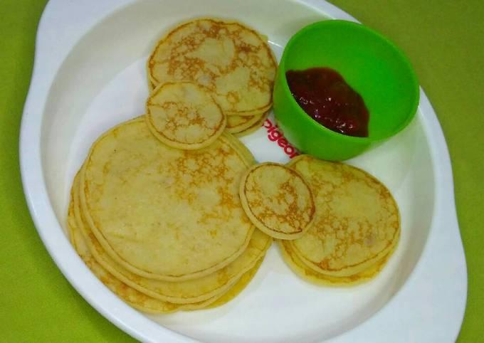 Resep Oat pancake MPASI oleh Hanna Soraya - Cookpad
