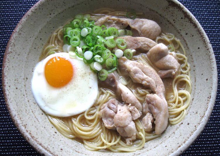 Mock Ramen 'Capellini' Soup