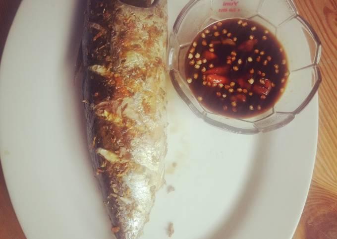 Ikan Panggang Oven with Sambal Kecap (Mudah Praktis dan Enak)