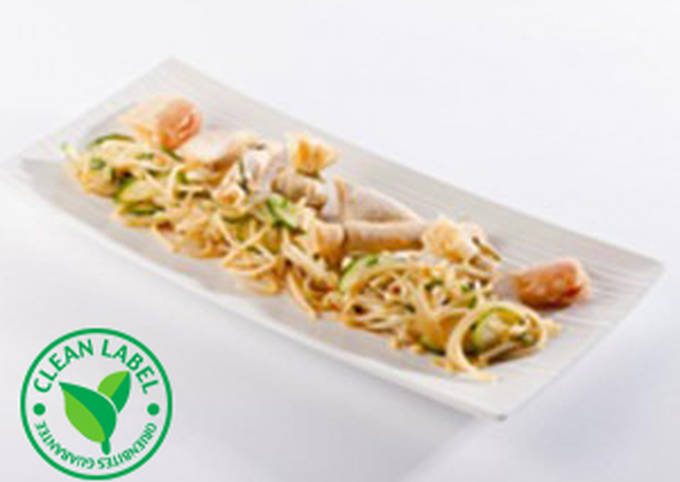 Spicy Oriental Chicken Snacks salad