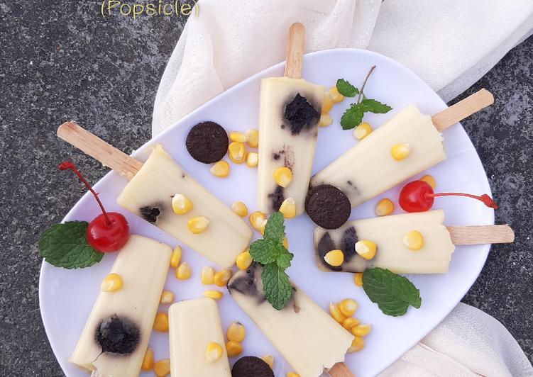 Resep Puding Jagung Oreo Popsicle Oleh Naila Rizqa Cookpad