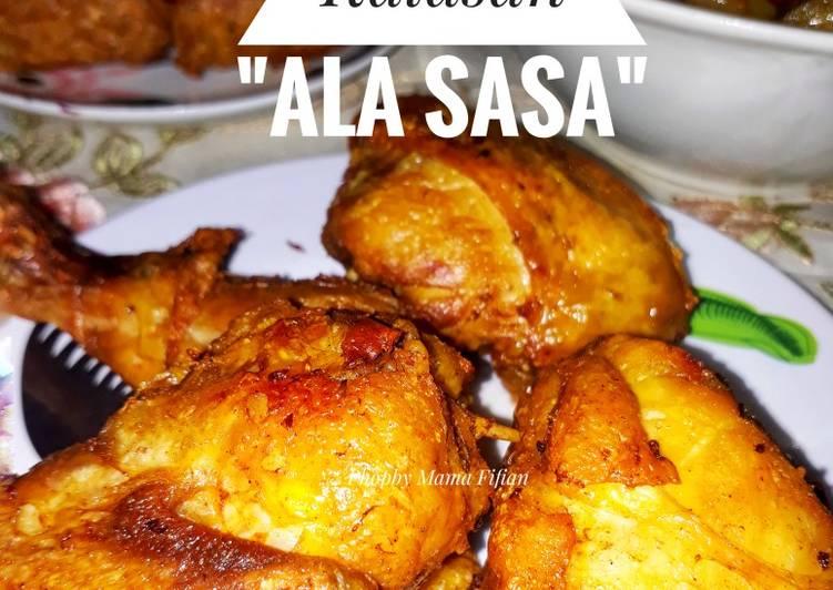 """Ayam Goreng Kalasan """"Ala Sasa"""""""