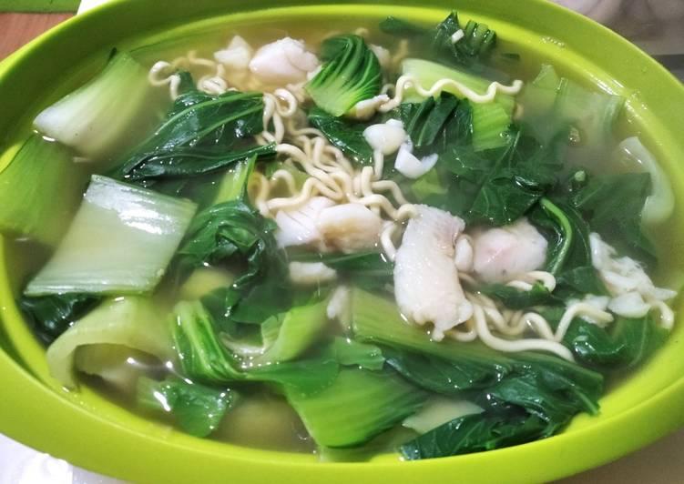 Resep Sup ikan dori pokcop mie Terenak