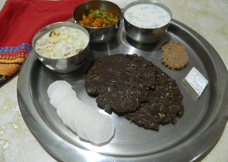 Buckwheat and Radish Paratha
