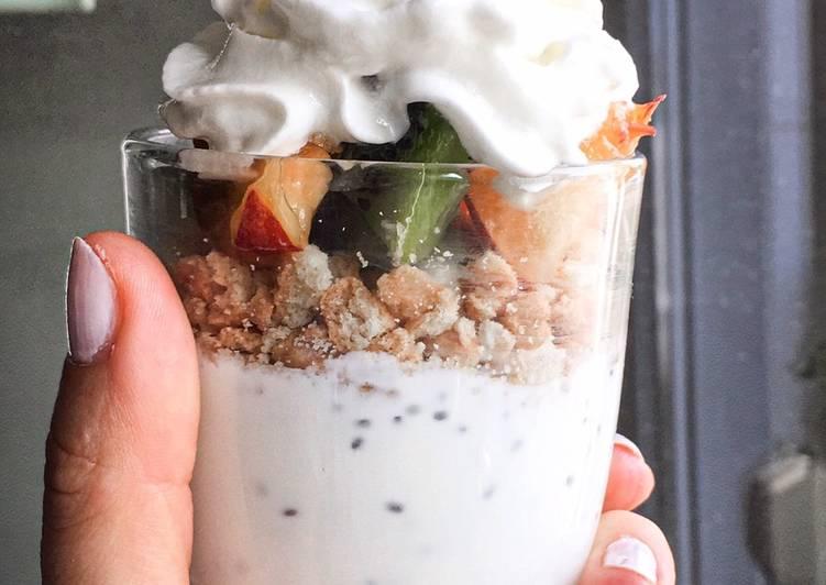Fitness Glass Yoghurt -Diet Dessert