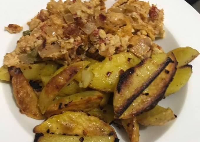 Oven Roast Potatoes