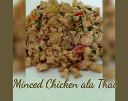Ayam Cincang Masakan Thailand