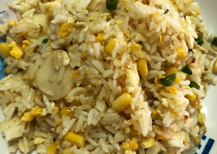 Nasi goreng putih