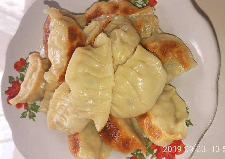 Resep Kuotie Gyoza Ayam Udang Halal Oleh Tokopedia Windfood Cookpad