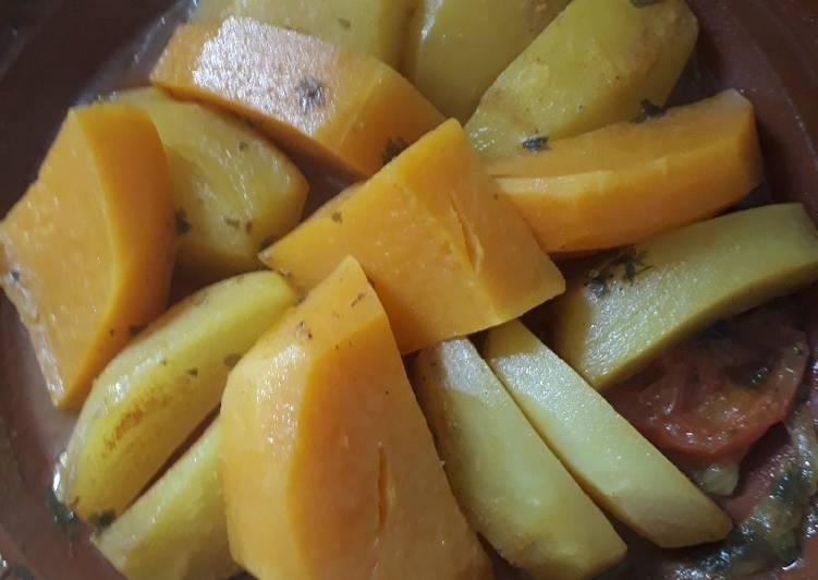 Tajine de légumes San viande