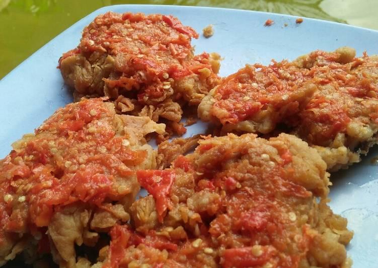 Ayam Geprek Sambal Mercon
