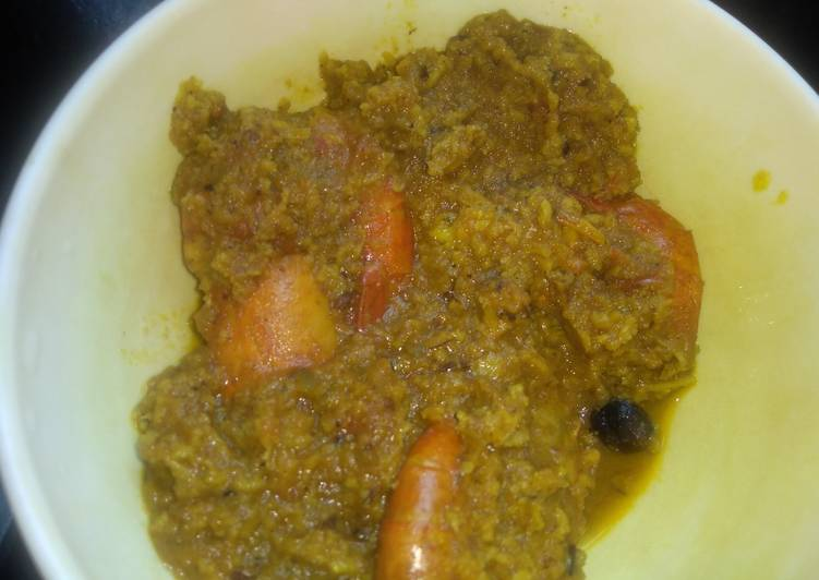 Prawn malai curry Finding Nutritious Fast Food