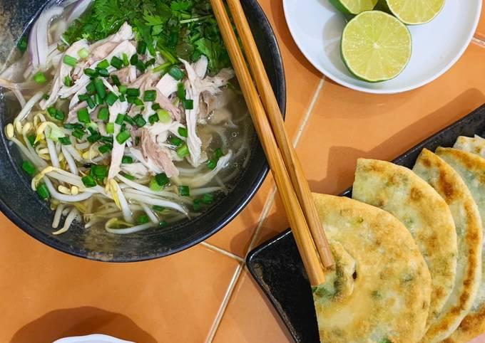 Recipe of Ultimate Pho Ga (Vietnamese Chicken Noodle Soup)