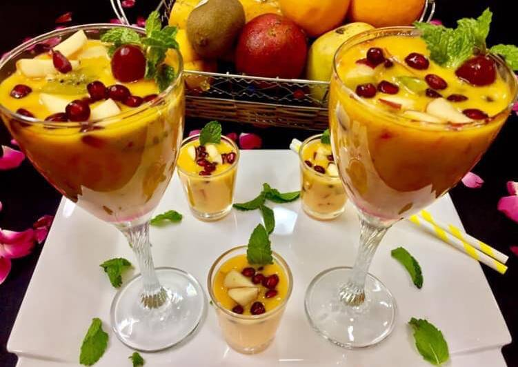 Healthy fruit punch